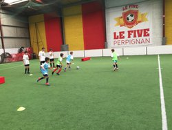 ASPTG STAGE FOOT - FIVE PERPIGNAN - 10.08.2018 - ASSOCIATION SPORTIVE DE PRO-TRAINING GAMES