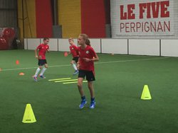 ASPTG STAGE FOOT - FIVE PERPIGNAN - 21.08.2018 - APM - ASSOCIATION SPORTIVE DE PRO-TRAINING GAMES