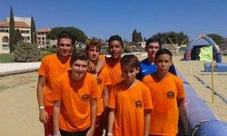 Les U15 au Beach Soccer Tour 2016 à La londe - ASPTT HYERES FOOTBALL