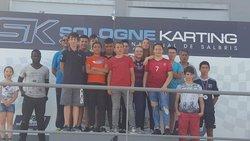 Animation Karting pour les U15 - AS SALBRIS FOOTBALL