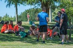 RASSEMBLEMENT FOOT FEMININ : Photos Rencontres U13 du Matin Lot-3 - AS ST ELOI LA VRAIE CROIX