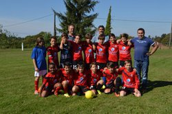 1er match de championnat u 13 aureil/st just 2016/2017 - AS Saint Just Le Martel
