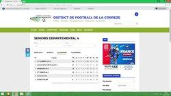 CLASSEMENT EQUIPE C - Association Sportive de Saint-Viance