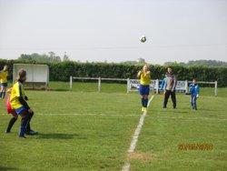 Nos Gazelles perdent 2 buts a 0 contre Peronne - ASS. SPORTIVE TALMAS  PICARDIE