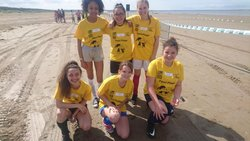 Participation des féminines de l'Avenir Briéron au fémi'plage !!!!!! - Avenir Brièron