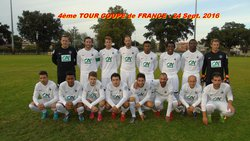 4ème TOUR COUPE de FRANCE - 24 Sept.2016 - Biscarrosse Olympique Football Club