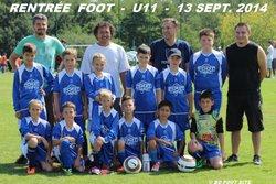 U11 - RENTRÉE FOOT - 13 SEPT. 2014 - Biscarrosse Olympique Football Club