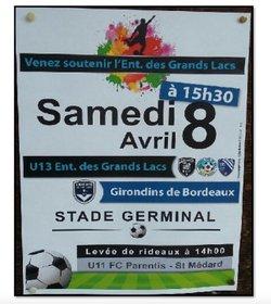 Match  U13 - Girondins de Bordeaux