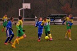 Vallée Verte/Bonne U13A  29/11/2014 - Bonne Athletic Club