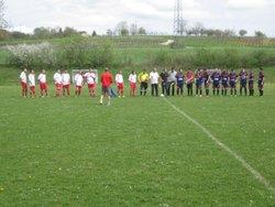15-04-18 FCBO B à Bersaillin contre Pleure B - FOOTBALL  CLUB    BRENNE-ORAIN