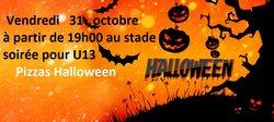 Soirée Halloween pour les U13