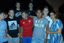 Dernière soirée U17 avec leur coach David Xayavong - Club Sportif de Saint-Pierre