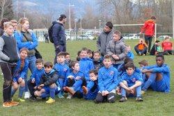 La troisième place pour les U11 et U13 au tournoi de Vougy... - Club Sportif de Saint-Pierre