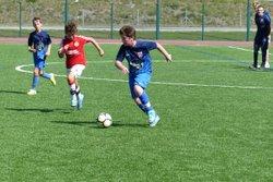 Bonne reprise pour les U13, du jeu, des actions, des buts... - Club Sportif de Saint-Pierre