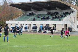 LES U18FEMININES - LES PONTS DE CE : 1 PARTOUT. Crédit photos.rviau. 11.11.2017 - FOOTBALL CHALONNES CHAUDEFONDS