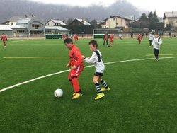 Photo du match CAM U11 - Cuines (17/03/2018) - CLUB ATHLÉTIQUE MAURIENNE FOOTBALL