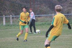 Victoire des U18 5-1 contre Belle et dronne buteurs Mathieu-Nathan et Samuel - CLUB ATHLETIQUE RIBERACOIS