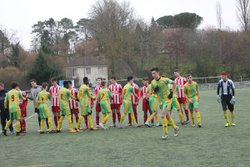 Defaite u18 riberac 1-0 contre pays de beaumont - CLUB ATHLETIQUE RIBERACOIS
