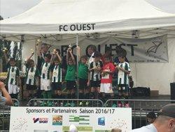 2017 06 24 - podium tournoi du FC Ouest - CADOURS Olympique