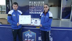 Remise du Label  EFF - COC FOOTBALL  LA COURONNE
