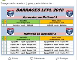 barrage - Club Omnisports.Castélorien -Section Foot