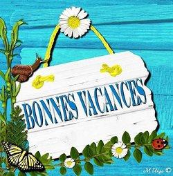 BONNE VACANCES