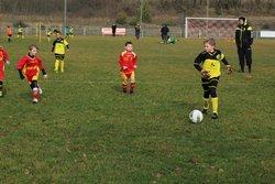 Les U9 lors d'un plateau à Noailles - COSNAC FOOTBALL CLUB