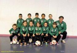 Equipe U7 Filles / U8 Garçons (Jacky/Stéphane/Elvis) - CLUB SPORTIF DE CHARMES