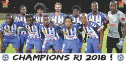 champion R1 saison 2017 - 2018 - CLUB SPORTIF MOULIEN
