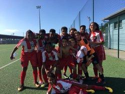 8 Sept 2018 1ere vict des U14 en championnat - Ecole de Foot Saint Gilles