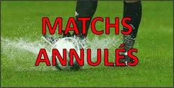 Dimanche 18 mars 2018 match annulé