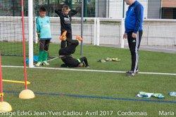 STAGE EdeG Avril 2017 : Jeudi 13 Matin Lot-3 - Ecole de gardien de but Jean-Yves Cadiou
