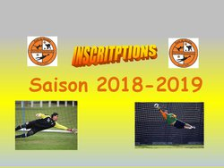 INSCRIPTION et INFOS pour SAISON 2018-2019