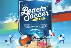 Beach Soccer Tour FFF - Espoir Football Club Beaucairois