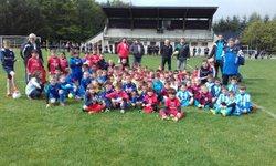les U6/U7 en plateau à Montsalvy - Entente Football Châtaigneraie Veinazes