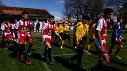 01-04-17 Challenge Trophées Sports U17 : Quart de finale face à Montauban Jesp 2 - Ecole de Football des Deux Rives 82