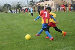 01-04-17 Plateau U9 de Meauzac - Ecole de Football des Deux Rives 82