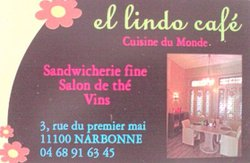 EL LINDO CAFE - CUISINE DU MONDE -  SALON DE THE