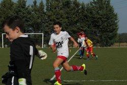 Les U13 en amical contre l'EFC Beaucaire , samedi 23 septembre 2017 - Entente du Gardon
