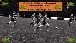 Match Championnat Fontenay FC vs Beauchamp AS Le Samedi 26 Mai 2018 - FONTENAY EN PARISIS FC - Erwan75.Footeo.com