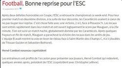 Articles de presse Saison 2014-2015 - ET.CARANTECOISE