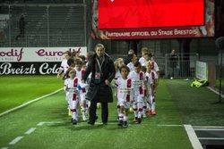 les U11 au Stade Brestois 29 - Etoile Sportive PLOUNEVENTER