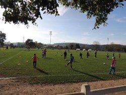 Entrainements communs de laJstel  à Toulon : les U7 et les U9 coachés par Kevin LACROIX et Thomas SIMONIN - E.S. TOULON