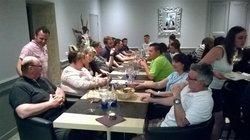 repas au Méridien après l'assemblée générale du 10 juin 2016 - E.S. TOULON