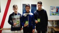 Les laureats des cartons verts deux Cagnacois bravo Guigui et Alex........ - Etoile Sportive Cagnacoise