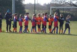 GJ U14 Féminine contre St George de Montaigu , Match nul 3 à 3 - Entente Sportive du Château d'Olonne