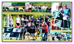 TOURNOI DE VALLON PONT D'ARC 2016 PHOTOS MONTAGE - E.S.Frontonas Chamagnieu