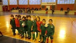 Les U7 et U9 en futsal - Esperance des Auxons Miserey