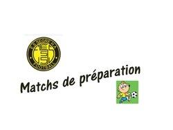 Calendrier des matchs de préparation