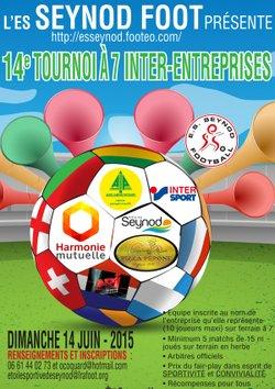 14e TOURNOI INTER ENTREPRISES A 7